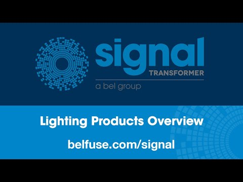 Signal Transformer Lighting Products Overview