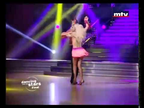 DWTSME -  Naya dancing Samba to