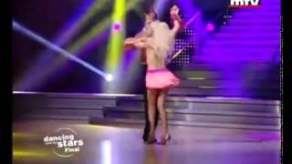 "DWTSME -  Naya dancing Samba to ""Spice Up Your Life"""