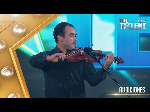 ¡Beatbox y violín! JERÓNIMO impactó con una combinación musical