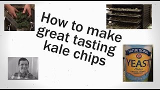 Tasty And Healthy Kale Chip Recipe And Directions