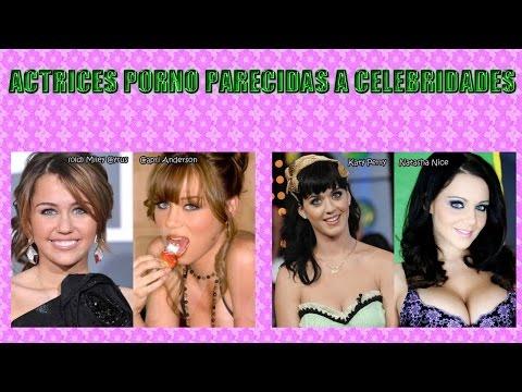 ACTRICES PORNO PARECIDAS A CELEBRIDADES