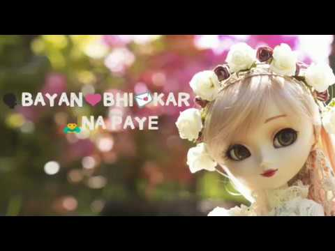 Aankho Me Aansu Leke || Sad Female Version || Whats App Status Video