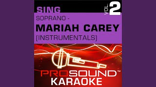 Love Takes Time (Karaoke Instrumental Track) (In the Style of Mariah Carey)