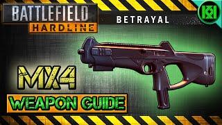 battlefield hardline mx4 review gameplay best gun setup   bfh weapon guide betrayal dlc