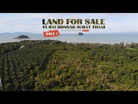LAND FOR SALE 15 RAI DONSAK, SURAT THANI THAILAND (2020)