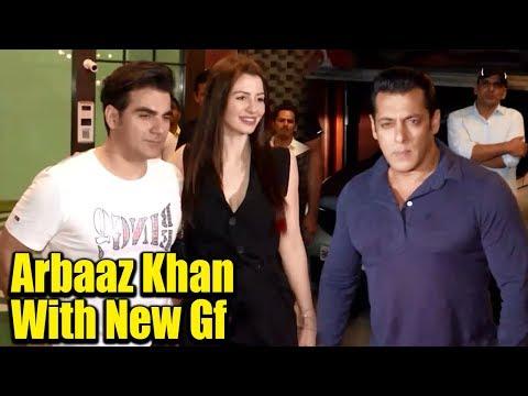 Arbaaz Khan's MACHO ENTRY With New GF In Front Of Salman Khan At Behnoi Ayush Sharma Bday Party