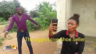 The aggressive Shoe Seller (Real House of Comedy)