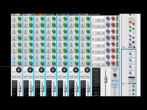 Reason/Record Tutorial: Headphone Mixer