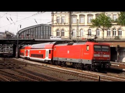 Hamburg - Eidelstedt Altona Dammtor Hauptbahnhof & Harburg