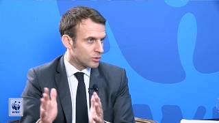 #PandaLive : Emmanuel Macron répond aux questions de la communauté du WWF France