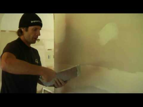 Spackling An Uneven Wall Step By Step Doovi