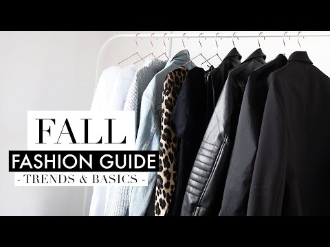FALL FASHION GUIDE 2016 | Musthave Trends & Basics Pieces