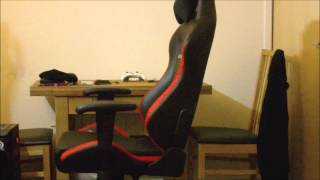 dx racer chair oh d03 nr gaming chair unboxing review