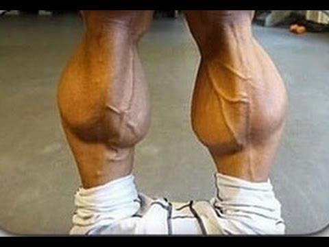 how to grow big calf muscles