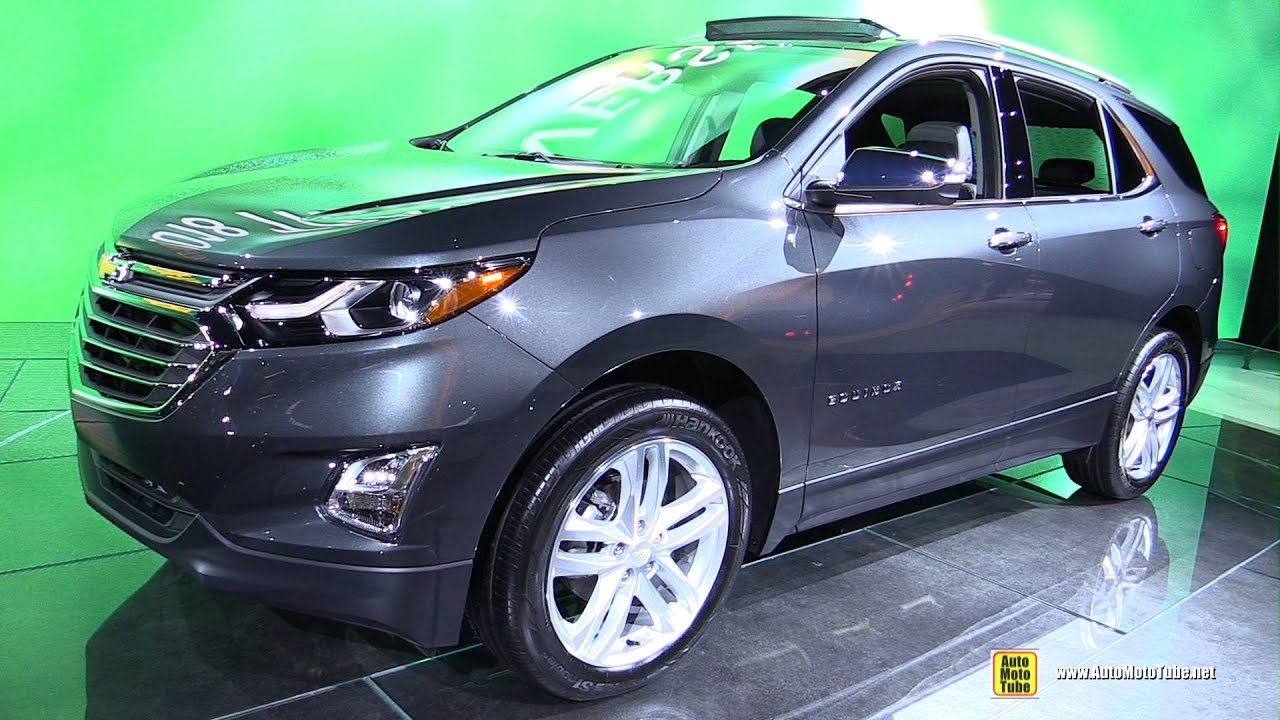 2017 Chevrolet Equinox Exterior And Interior Walkaround Detroit Auto Show You