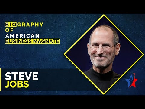 Steve Jobs Biography In English | Founder Of Apple Inc