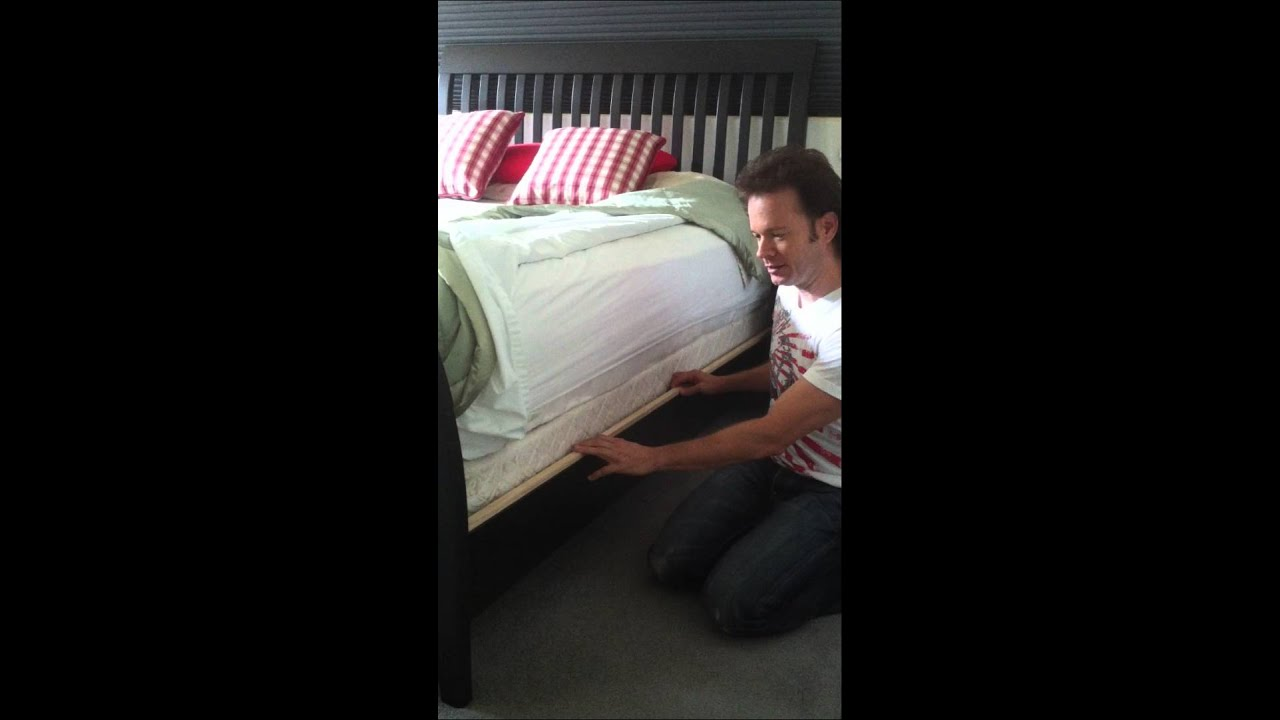 How To Keep Your Mattress And Box Spring From Sliding Around Inside Bed Frame