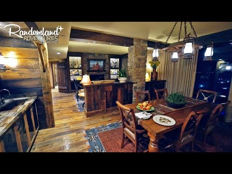 Disneyland's BIG THUNDER SUITE! The Hotel's best kept Secret!!