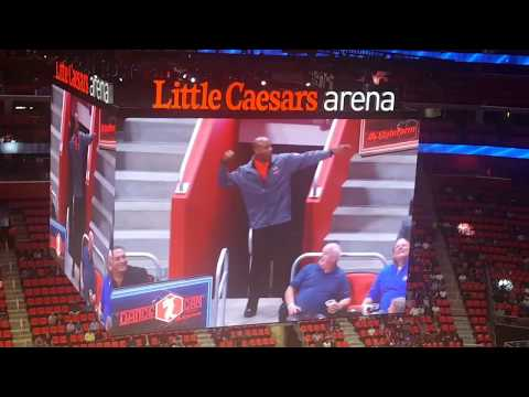 Look inside Little Caesars Arena @Detroit Pistons Preseason Game