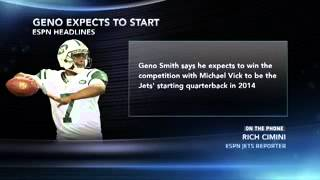 Geno Smith Confident He Will Be Starting QB