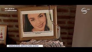 Familia de joven enterrada en colegio exige justicia LA MAÑANA
