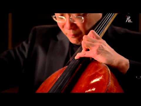 Yo-Yo Ma - Bach Cello Suite N°.6  -  Sarabande (HD)
