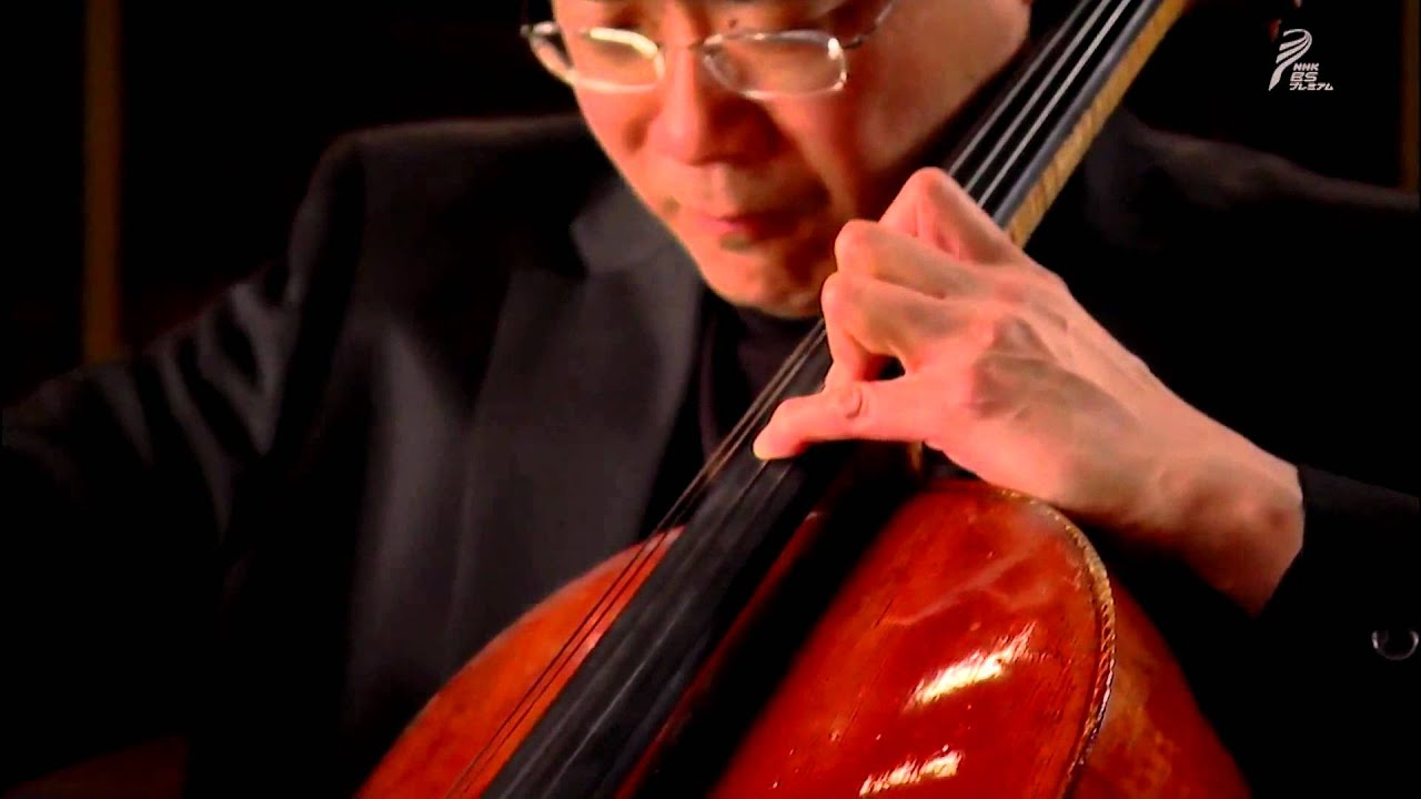 Citaten Yo Yo Ma : Yo ma bach cello suite n° sarabande hd youtube