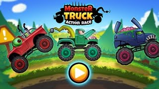 Monster Trucks Action Race  Racing Action Tiny Lab Games  Videos Games for Children roid HD