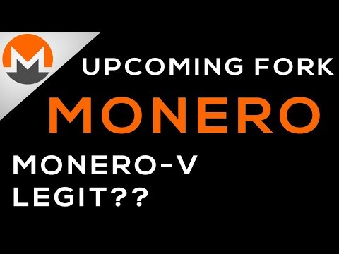 Monero Being Forked Soon By Monero-V,   What's the Difference