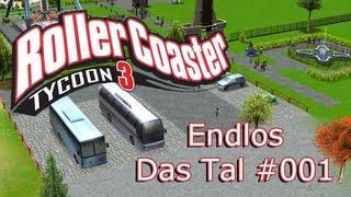 Rollercoaster Tycoon 3 Endlos - #001 - Falschparker - Let's Play [Deutsch / Full HD]