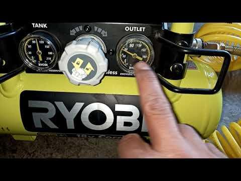 Compresor a bateria RYOBI thumbnail