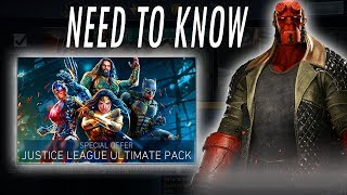 connectYoutube - NEW CHARACTERS! NEED TO KNOW! MWW Update! Justice League Batman, Cyborg, Aquaman Hellboy Injustice 2