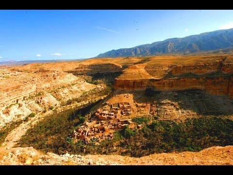 Les balcons de ghoufi Batna un endroit touristique exceptionnel en Algerie