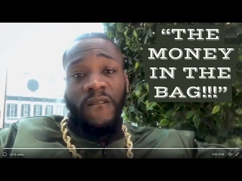 DEONTAY WILDER  MAKES $50 MILLION OFFER TO JOSHUA |  EDDIE HEARN PASSES OUT (LOL!!!)