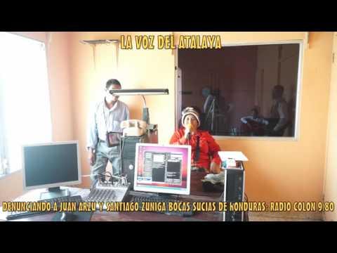 Juan Arzu y Santiago Zuniga denunciados por boca sucias   en Radio Tocoa Colon Honduras -