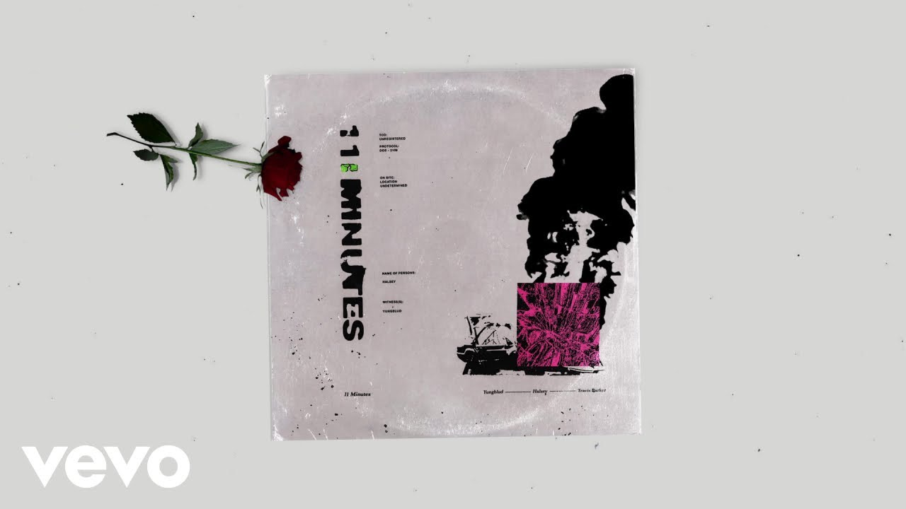 11 >> Yungblud Halsey 11 Minutes Audio Ft Travis Barker Youtube
