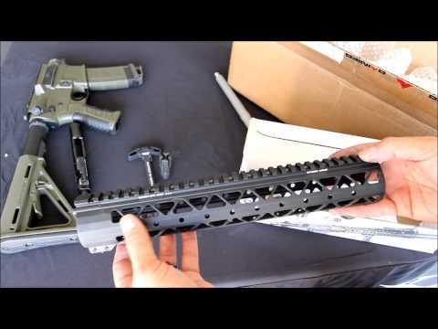 Rainier Arms Goodie Box (Raptor Charging Handle, 223 Wylde Barrel, RA Samson Rail, RA XTC,..