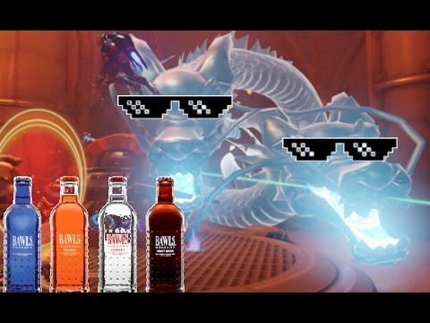 Hanzo Shimada's Double Dragon Energy Drink