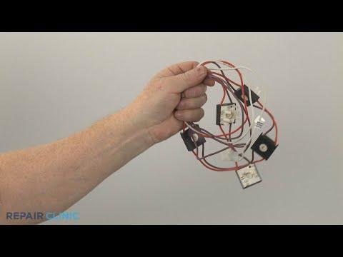 Spark Switch Wire Harness - Whirlpool Gas Range (Model #WFG745H0FS1)