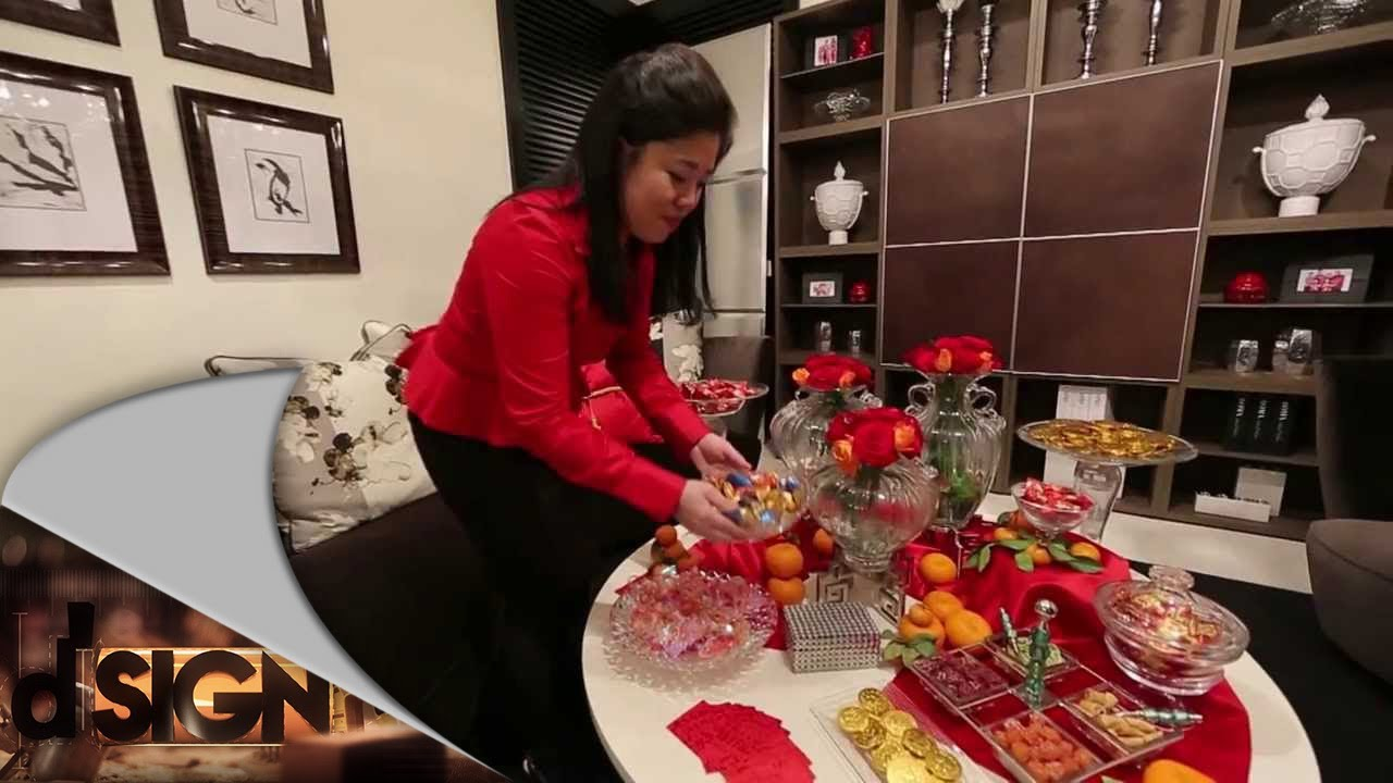 Chinese New Year Home Decoration Ideas Part - 24: DSign - How To Decorate Living Room For Chinese New Year - YouTube