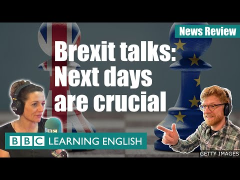 Brexit talks: Next days are crucial: BBC News Review