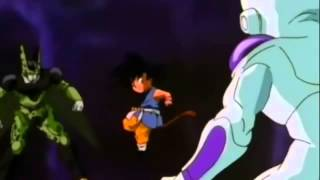 DBGT Goku vs Cell y Freezer Completo Latino