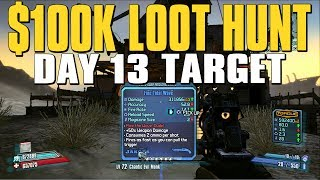 Borderlands 2 Daily Loot Hunt - Target 13 DJ Tanner / Tidal Wave
