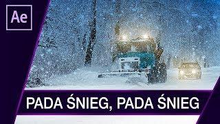 Realistyczny śnieg ▪ After Effects + Plugin #58 | Poradnik ▪ Tutorial