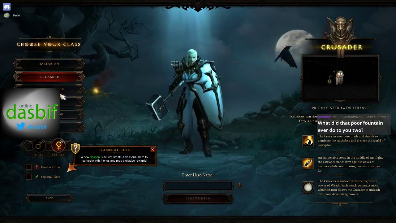 Matchmaking diablo 3 - Seeking Female Single Women
