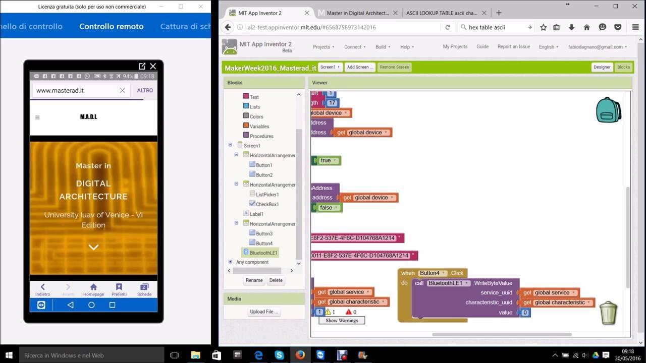 Arduino 101 + App Inventor Ble tutorial