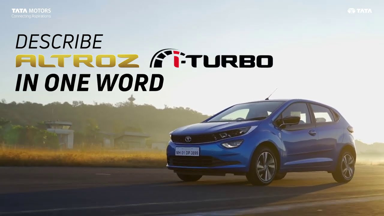Journalists Describe The ALTROZ i-Turbo In One Word