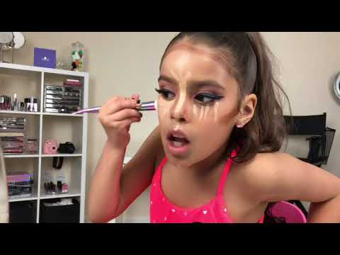 ARIANA GRANDE INSPIRED  MAKEUP TUTORIAL BY EVA