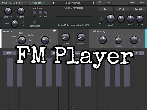 Coming Soon FM PLAYER - Pre Release Demo for the iPad & FREE